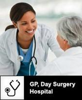 GP, Day Surgery, Hospital