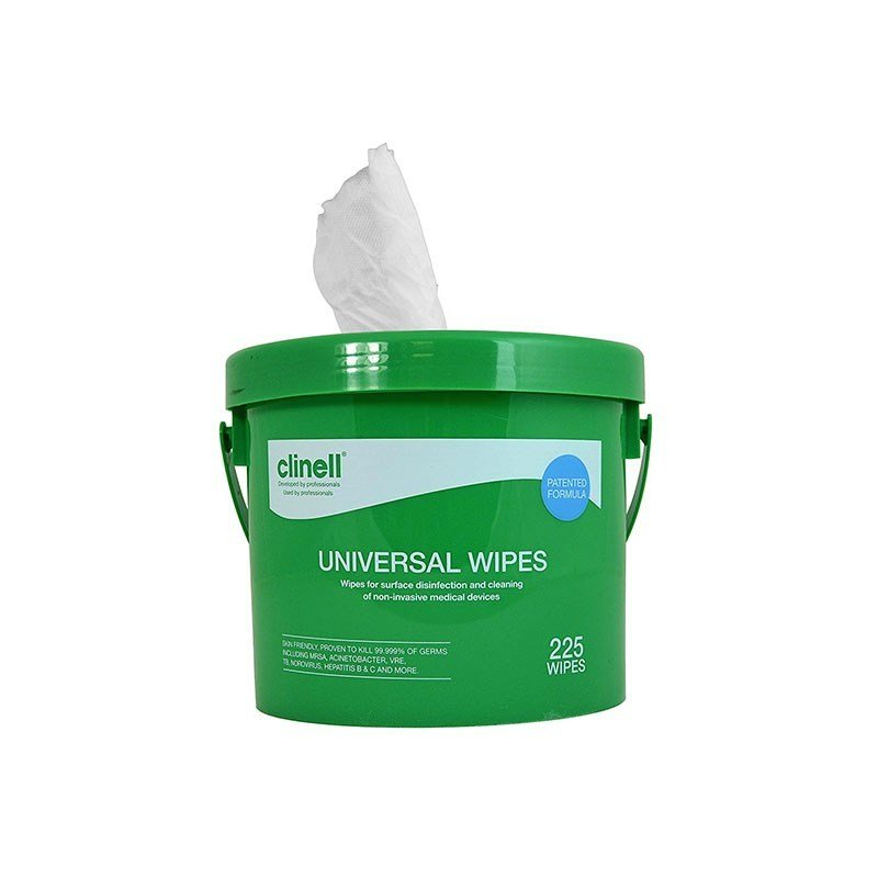 CLINELL UNIVERSAL WIPE (CWBUX225) BUCKET/225