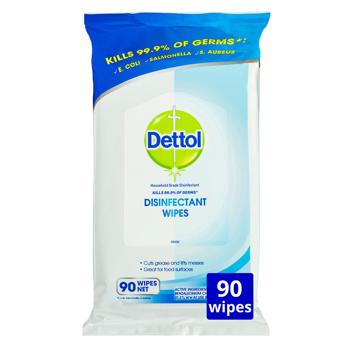 DETTOL 2 IN 1 HAND & SURFACE WIPES PACK/60