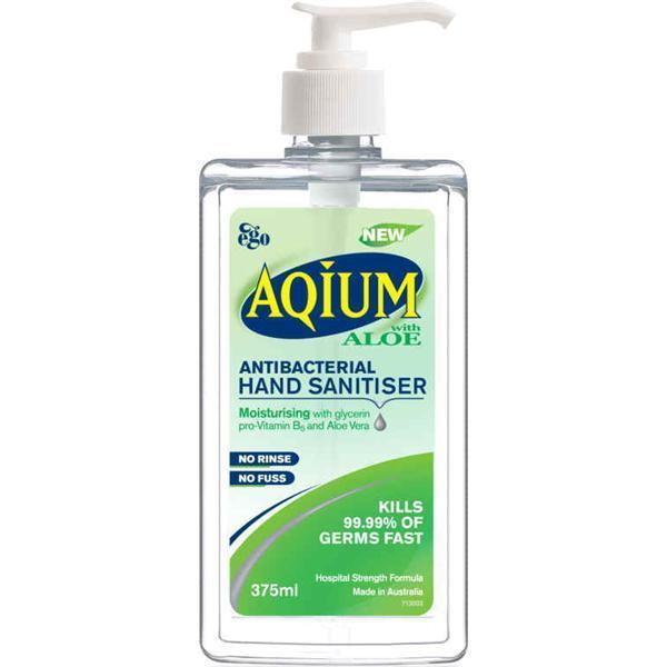 AQIUM GEL WITH ALOE VERA (EGO)  375ML   EA