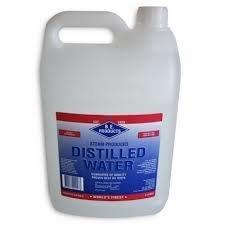 WATER DISTILLED ST                    5LTR