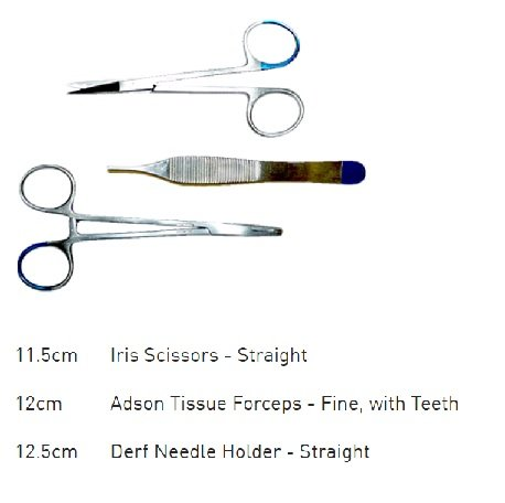SUTURE KIT DISPOSABLE MICRO (06-409)    EACH