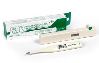 THERMOMETER RECTAL DIGITAL WITH COVER (C405S)  EA