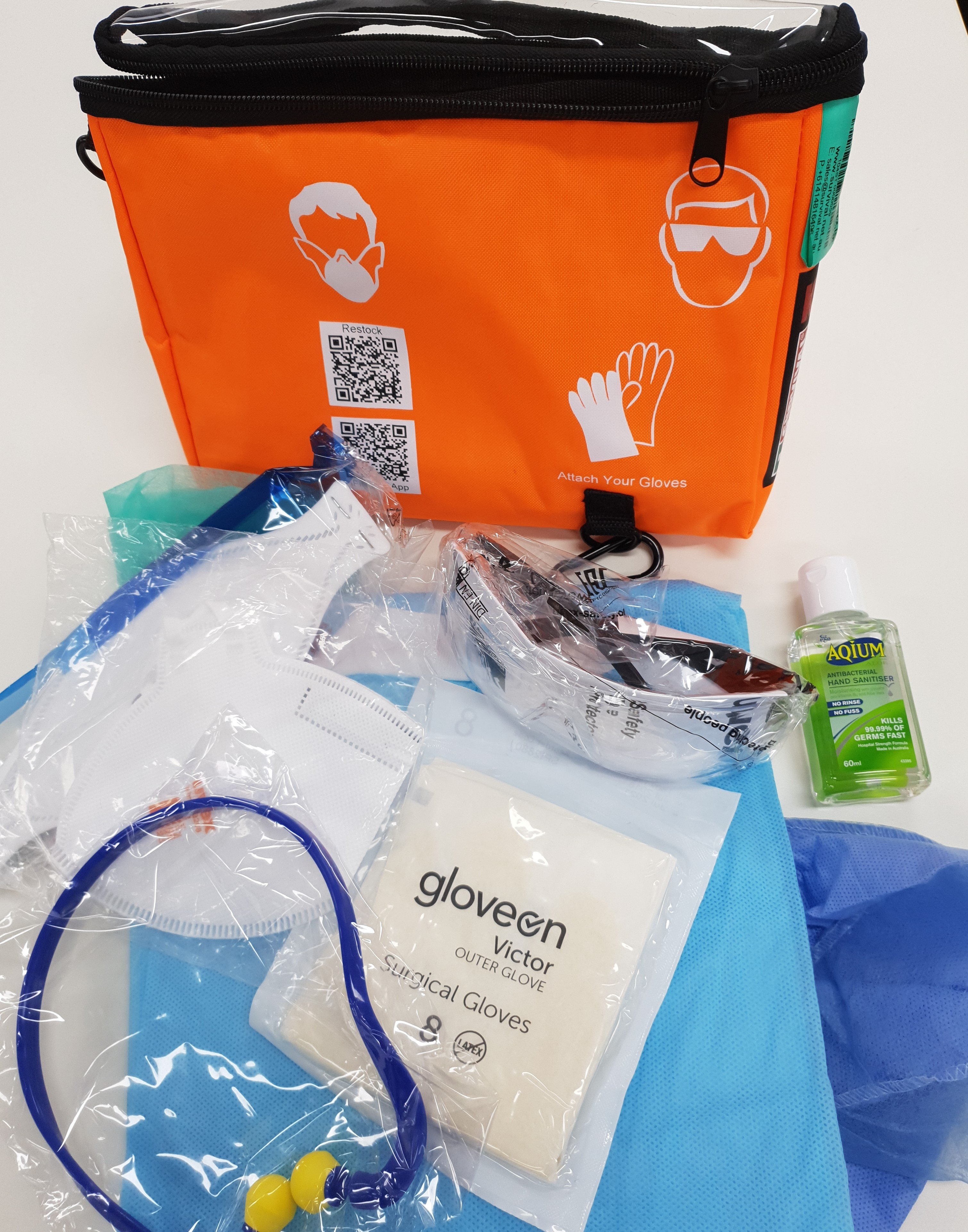 WORKSITE PROTECTION KIT C/W P2 N95 MASK   EA