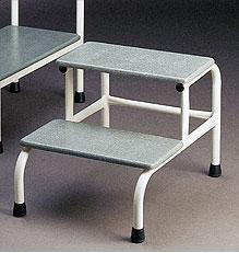 STOOL TWO STEP EPOXY (AX393)