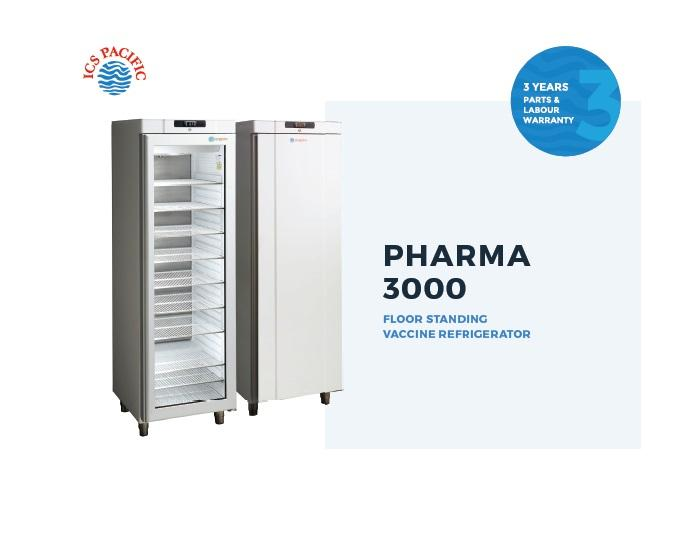 VACCINE FRIDGE ICS PHARMA 350L UPRIGHT (3000GD)