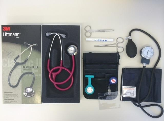 NURSE KIT WITH LITTMANN CLASSIC II STETHOSCOPE (CG03) EA