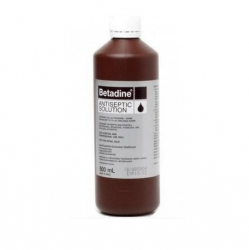 BETADINE ANTISEPTIC SOLUTION 500ML         EACH
