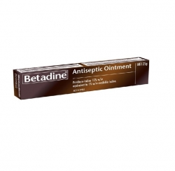 BETADINE OINTMENT 25G TUBE                    EACH