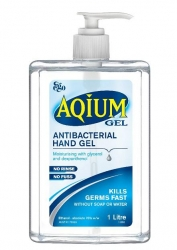 AQIUM GEL (EGO)  C/W PUMP                  1LTR - Click for more info