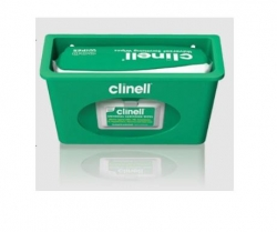 CLINELL WALL MOUNT DISP FOR FLAT PK GREEN (CWD) EA