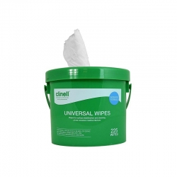 CLINELL UNIVERSAL WIPE (CWBUX225) BUCKET/225 - Click for more info