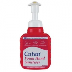CUTAN ALCOHOL FOAM 400ML (CAF400ML)  CTN/12