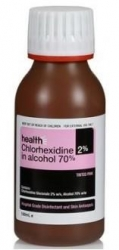 CHLORHEX 2% IN 70% ALCOHOL PINK 100ML