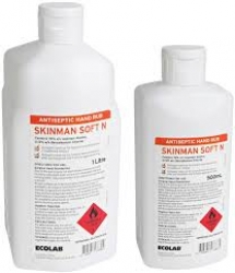 SKINMAN SOFT N ANTISEPTIC H/RUB 1L (13043800) EACH