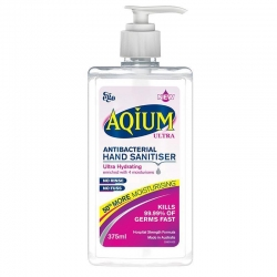 AQIUM (EGO) HAND SANITISER ULTRA 375ML - Click for more info