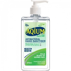 AQIUM GEL WITH ALOE VERA (EGO)  375ML *ETA 08/20*
