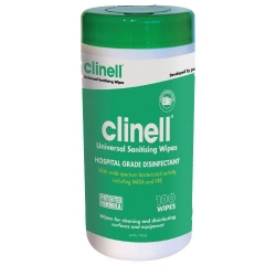 CLINELL UNIVERSAL WIPES (CWTUB100)     TUB/100 - Click for more info