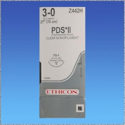 SUTURE PDS*II 3/0 24MM (Z442H)             BOX/36