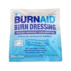 BURNAID GEL DRESSING 20X20CM    EACH