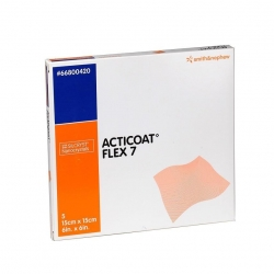 ACTICOAT FLEX 7 DAY DRESSING 15X15CM (0420) BOX/5