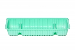 ANAESTHETIC TRAY 3 COMPARTMENTS (DEF321) CT/80