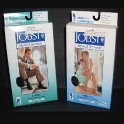 JOBST MEN SOCKS MED 15-20 BLACK (75254-01)
