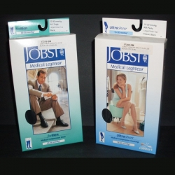 JOBST MEN SOCKS SML 15-20 BLACK (75253-01)