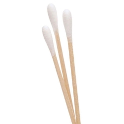 COTTON BUDS D/E STERILE 10'S (DEF421)  BOX/100