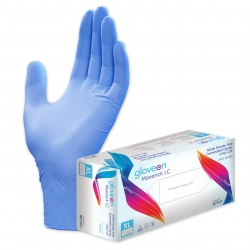 GLOVE NITRILE MAVERICK NS LCUFF MED (26MM) BX/100