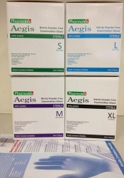 GLOVE NITRILE AEGIS STERILE EXAM MED (SNT26MM) BOX/50