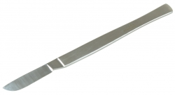 SCALPEL SOLID FORGED BLADE 4CM (DIS040) EA