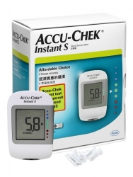 ACCU-CHEK INSTANT S METER ONLY  EA