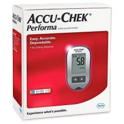 ACCU-CHEK PERFORMA GLUCOSE TEST KIT EA