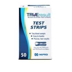 TRUE RESULT BLOOD GLUCOSE TEST STRIP BOX/100