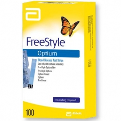 FREESTYLE OPTIUM NEO H BLOOD GLUCOSE STRIP (71312-75) BX100