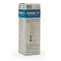 UROCOLOR TEST STRIPS 10SD (SD10UK10) BOX/100