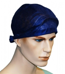 CAP THEATRE TIE BACK DARK BLUE (TC009) CTN/250