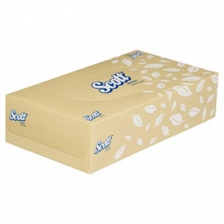 FACIAL TISSUES SCOTT 100'S (4725)       CTN/48