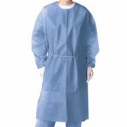 GOWN CONTROL COVER BLUE MD/LG (69981) CTN/100