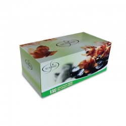FACIAL TISSUES SUNRISE 2PLY 180'S      CTN/36 - Click for more info
