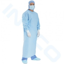 GOWN SURGICAL SINGLE  LEVEL 3  LARGE (41871) CTN/30