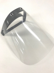 FACE SHIELD RE-USABLE FULL LENGTH (F002) EA - Click for more info