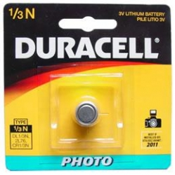 BATTERY DURACELL 3V LITHIUM (DL1/3NB)  EACH