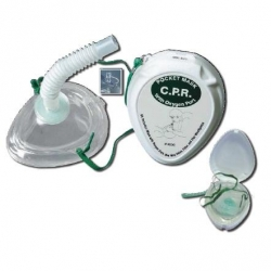CPR POCKET RESUS  MASK  (1325)   EACH - Click for more info