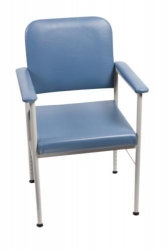 CHAIR KINGSTON ADJUST- BLUE LOW BACK (18005SB)