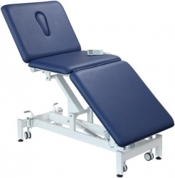 COUCH EXAM ELECTRIC CLASSIC BARIATRIC 3 SECTION BLUE