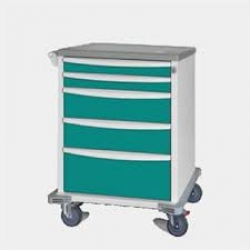 MEDICAL CART I-SERIES EVERGREEN 8 HIGH (AVAL18MCEGCDR311) EA - Click for more info
