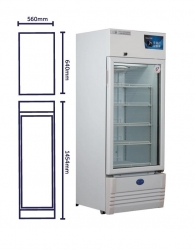 VACCINE FRIDGE VACC SAFE 250 PREMIUM 225LTR  EA - Click for more info
