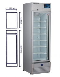 VACCINE FRIDGE VACC SAFE 400 PREMIUM 400LTR  EA - Click for more info
